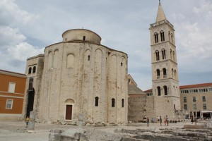 Zadar, Donatus Church Photo Ed Sluimer 2012