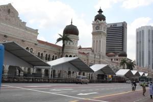 Kuala Lumpur, Merdeka Square Photo Ed Sluimer 2011