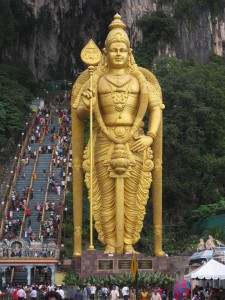 Heer Murugan, Batu Caves Photo Ed Sluimer 2011
