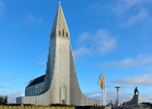 Reykjavik, Hallgrimskirkja Photo Vincent Tepas 2010