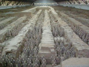 Xi'An, Terracotta Army Photo Hennie Sluimer 2007