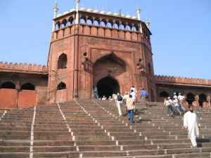 Delhi, Jami Masjid Photo: Ed Sluimer 2005