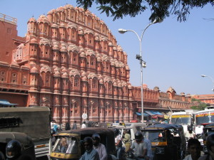 Jaipur, Hawa Mahal Photo: Ed Sluimer 2005