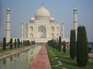 Agra, Taj Mahal Photo: Ed Sluimer 2005