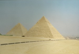 Giza Pyramids, Photo: Ed Sluimer 2000