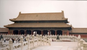 Beijing, Forbidden City-Palace Museum Photo Ed Sluimer 2001