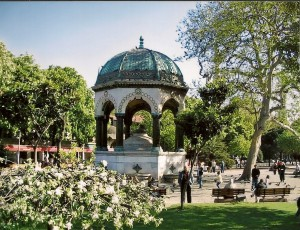 Istanbul, German Fountain Photo Ed Sluimer 2005