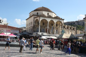 Athens, Monastiraki Square Photo Ed Sluimer 2014