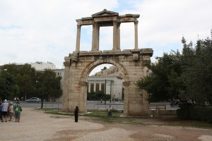 Athens, Arch of Hadrian Photo Ed Sluimer 204
