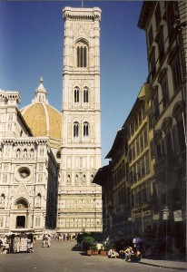 Florence, Giotto Tower Photo Ed Sluimer 1998
