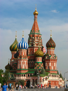 Moscow, Saint Basil's Cathedral Photo Vincent Tepas 2010
