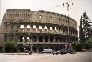 Rome, Colosseum Photo Ed Sluimer 1998