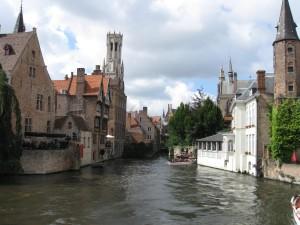 Bruges, Belfry in background Photo Ed Sluimer 2008