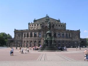 Dresden, Semper Opera Photo Ed Sluimer 2007