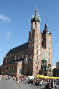 Krakow, Basilica Photo Ed Sluimer 2010