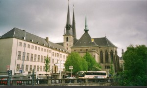 Luxembourg, Cathedral Photo Ed Sluimer 2002