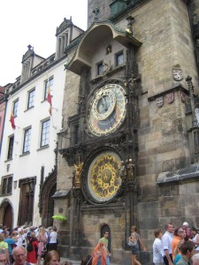 Prague, Old Town Hall Clocks Photo Ed Sluimer 2007