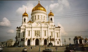 Moscow, Cathedral of Christ the Saviour Photo Ed Sluimer 2003