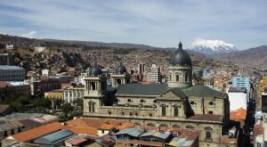 La Paz, City Centre Photo Vincent Tepas 2012