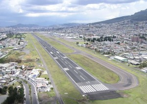 Quito Airport Photo Hans Peels 2004