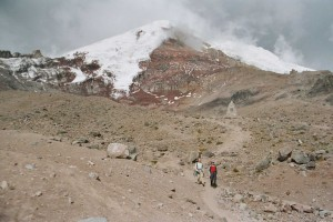 Chimborazo volcano Photo Hans Peels 2004