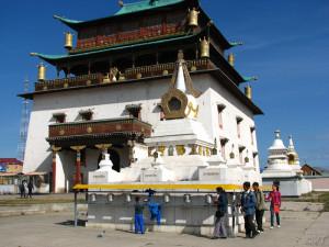 Ulaanbaatar, Gandan Monastery Photo Vincent Tepas 2009