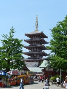 Tokyo, 5-story Pagoda Photo Hennie Sluimer 2014
