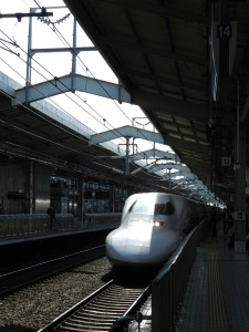 Shinkansen Photo Hennie Sluimer 2014