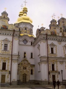 Kiev, Monastery of the Caves Photo Hedwig Blommestein