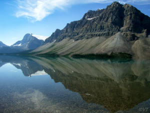 Bow Lake Photo Vincent Tepas 2004