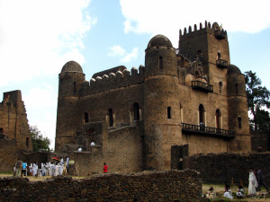 Gondar, Fasilides Castle Photo Vincent Tepas 2011