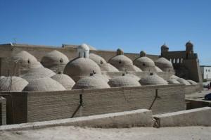 Khiva, Bathhouses Frans Tollenaar 2012