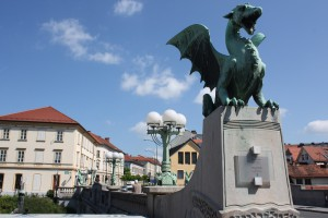 Ljubljana Dragon Bridge Photo Ed Sluimer 2015