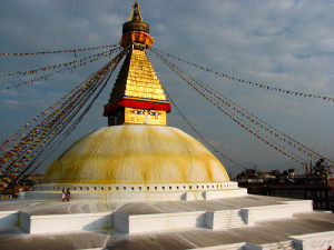 Stupa Photo Vincent Tepas 1999