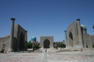 Samarkand, The Registan Photo Frans Tollenaar