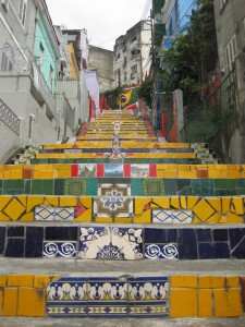 Rio de Janeiro, Escadaria Selaron Photo Guido Sluimer 2011