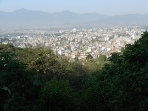 View on Kathmandu Photo Hennie Sluimer 2012