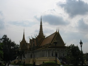 Phnom Penh, Royal Palace Photo Michael Sluimer 2010