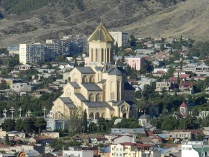 Tbilisi, Cathedral Photo Hennie Sluimer 2013