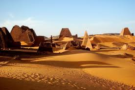 Pyramids of Meroe Photo Internet