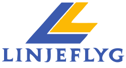 Linjeflyg logo