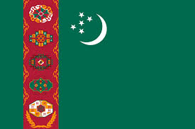 Turkmenistan vlag