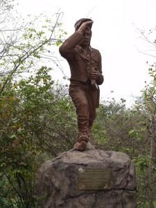 Statue of David Livingstone Photo Hennie Sluimer 2011