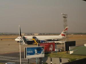 Lusaka Airport Photo Hennie Sluimer 2011