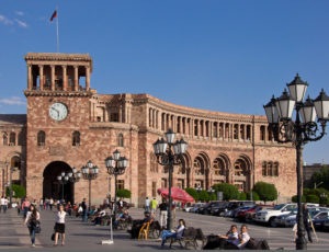 Yerevan Republic Square Photo Vincent Tepas 2013